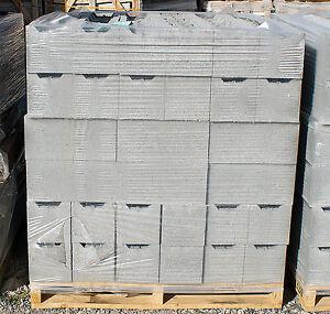 1 Pallet Retaining wall Besser blocks 390x190x190mm free ...