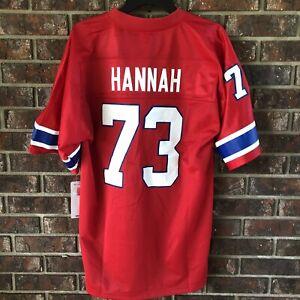 Details about NFL Pro Line Vintage New England Patriots John Hannah Jersey Size S