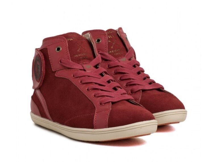 BARONS PAPILLOM SNEAKERS CAMOSCIO SUEDE LEATHER ROSSO 37 39 43 44 NUOVO BOX NP