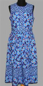Kate Spade Blue Tangier Dress Embroidered Eyelets Amp Dots