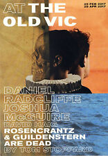 DANIEL RADCLIFFE ROSENCRANTZ GUILDENSTEIN ARE DEAD OLD VIC FLYER JOSHUA MCGUIRE