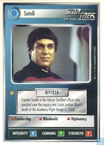 Star Trek CCG Premiere WB Unlimited Satelk