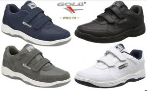 Gola-Belmont-Wide-Fit-EE-Mens-Leather-Trainers-Size-7-15-UK