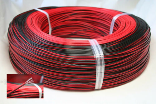 10M33FT 2-Pin 20AWG Extension Electrical Wire Cable Cord For 3528 5050 LED Strip