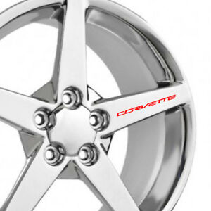 CHEVROLET-CORVETTE-Wheel-Decals-Set-of-4-Z06-ZR1-Grand-Sport-C5-C6-C7-Racing