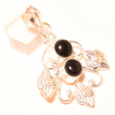 Bridal & Wedding Party Jewelry Black Onyx Fashion Gemstone Jewelry Pendant S 6.50 Cm Rd-4965 Do You Want To Buy Some Chinese Native Produce? Jewelry & Watches