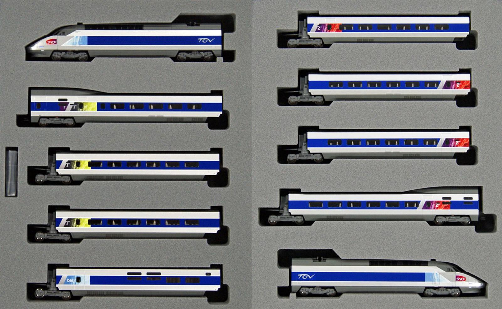 Kato - ref.10-1431 - TGV Réseau  10 coches