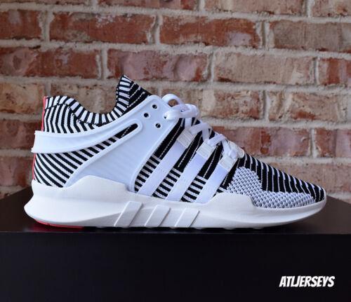 premium selection adede 99fb2 ... ebay adidas eqt support adv pk primeknit zebra white black pink ba7496  9 6604e 0c35a