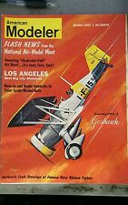 American Modeler Mag - Oct. 1962 - Good condition! Model airplanes, cars, ships