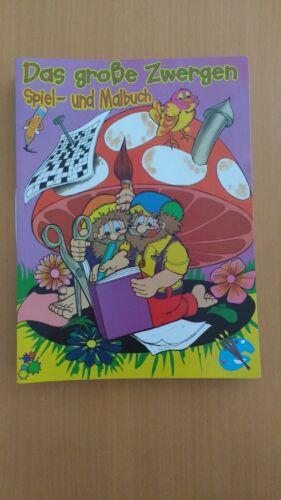 und Malbuch Taunusverlag   #137 Das große Zwergen Spiel