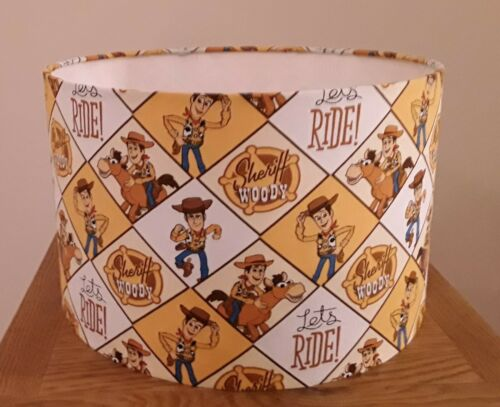 TOY STORY SHERIFF WOODY  LAMPSHADES VARIOUS SIZES 20CM 30CM