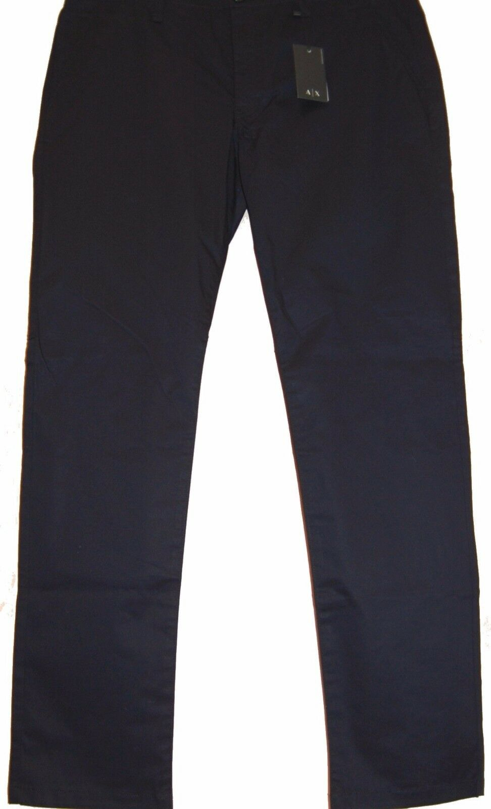 Armani Exchange Navy Men's Casual Stretch Pants Size 56 US NEW