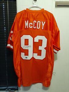 Gerald McCoy Autographed Signed vtg orange used XL Jersey Tampa ...