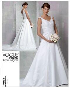 Image Is Loading VOGUE BRIDAL ORIGINAL FLOOR LENGTH WEDDING GOWN TRAIN