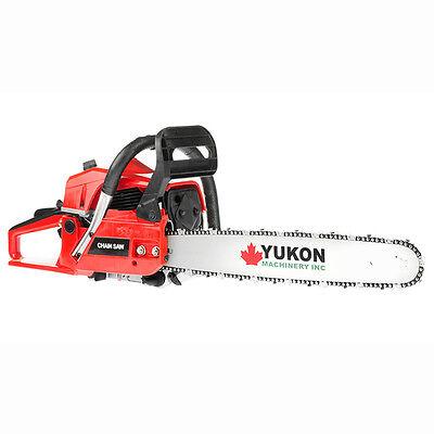 YUKON 62CC 2 Stroke Tradesman Petrol Chainsaw
