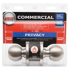 5979 Entrance KnobSet Polished Stainless Parma Lane Security Specifier