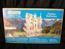 Creatology......Wooden 3D....Puzzle....Fantasy Dollhouse....Sealed