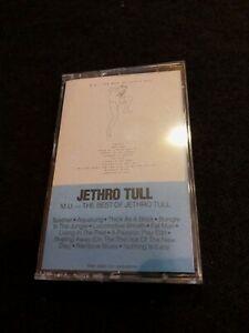 M.U.: The Best of Jethro Tull by Jethro Tull (Cassette, Dec-1985, Chrysalis Rec…