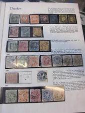 Recopilación, Prusia, casi completamente + herramientas, con sello (351)