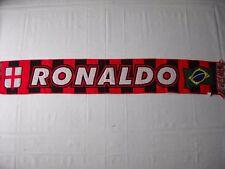 d56 sciarpa MILAN AC football club calcio scarf bufanda italia italy ronaldo
