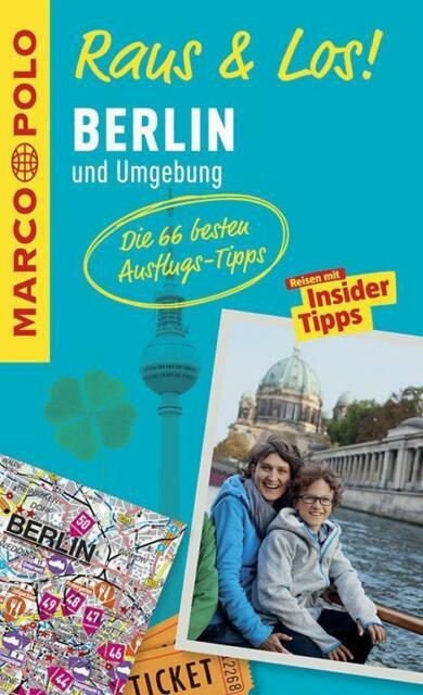 Berlin und Umgebung Raus & Los + Karte Marco Polo 2015 Potsdam Wannsee Havel