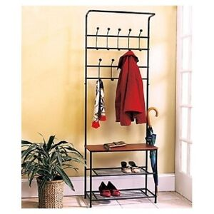 Image Is Loading Coat Rack Shoe Entryway Bench Mud Room