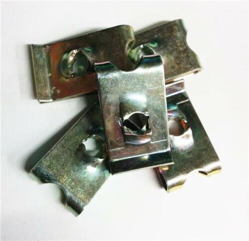 20x speedclips elementi di fissaggio U nuts GUGLIA AUTO PRIGIONIERO Clip No12 Self intercettazioni CLAMP