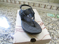 Born B.o.c Reagan Black Sandals Womens 8 Strappy Free Ship