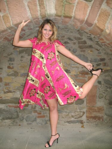 Babydoll Strandkleid Hauskleid Wellness Damen Kaftan