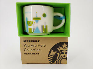 Starbucks You Are Here Collection Ornament Seattle