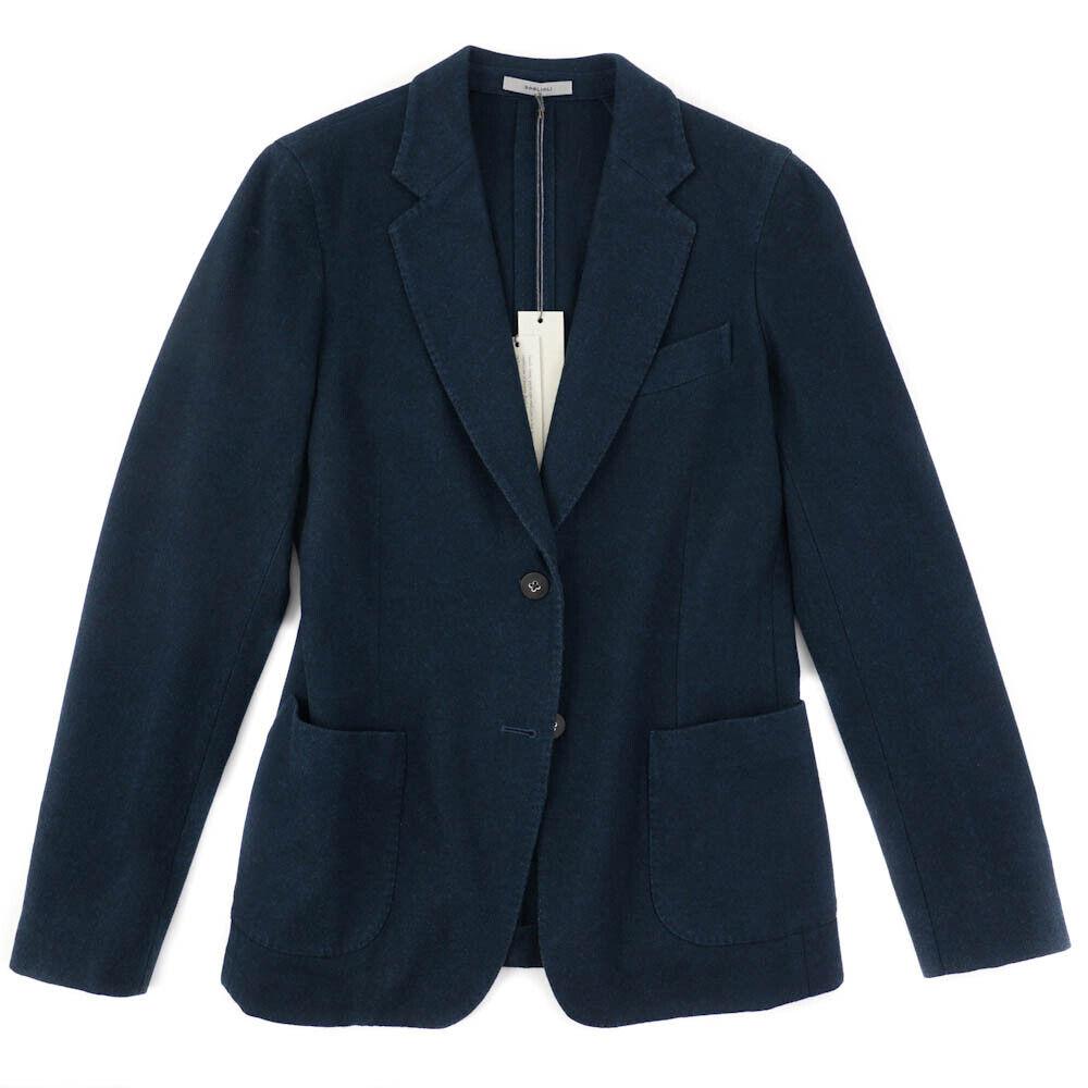 Women's  1500 BOGLIOLI Teal bluee-Green Soft Wool Blazer IT 48 (US size 14)