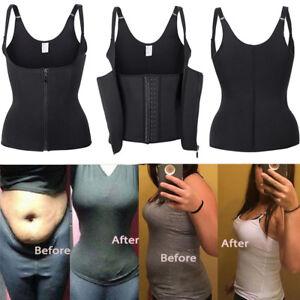 5feeb98f78 Image is loading Women-Body-Shaper-Slimming-Waist-Trainer-Cincher-Underbust-
