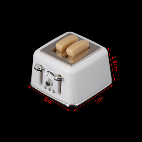 1//12 Scale dollhouse bread machine with toast miniature cute decor Toaster In CA