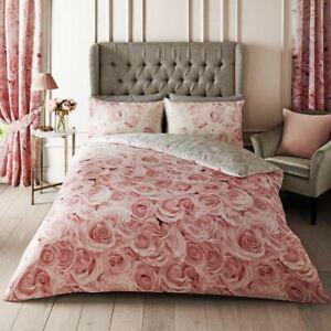 Rose-Bellerose-Floral-Parure-Housse-de-Couette-King-Size-Roses-Design