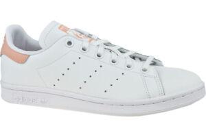 prefacio florero Sombra  Adidas Stan Smith EE7571 para Mujer Blanco Original Zapatillas de Cuero  Sintético | eBay