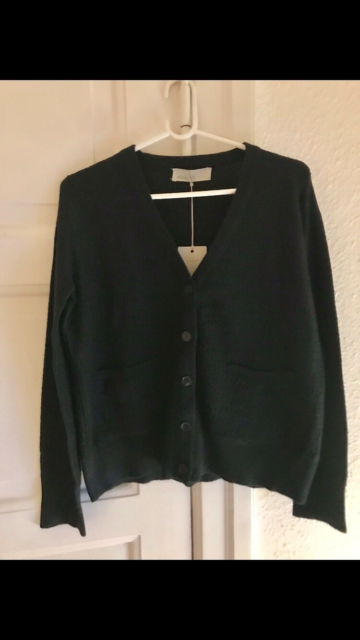 Cardigan, Aiayu, str. 38, Sort, Ubrugt