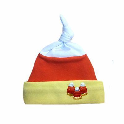 Happy Halloween Orange Magic Witch Baby Hat 6 Preemie Newborn Toddler Sizes