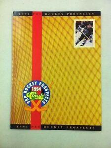 1994-Classic-Hockey-Product-Promotional-Pamphlet-Radek-Bonk-Alexei-Yashin