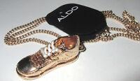 Mens Aldo Shoe Pendant Necklace
