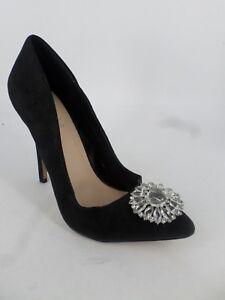 black embellished shoe ebay uk