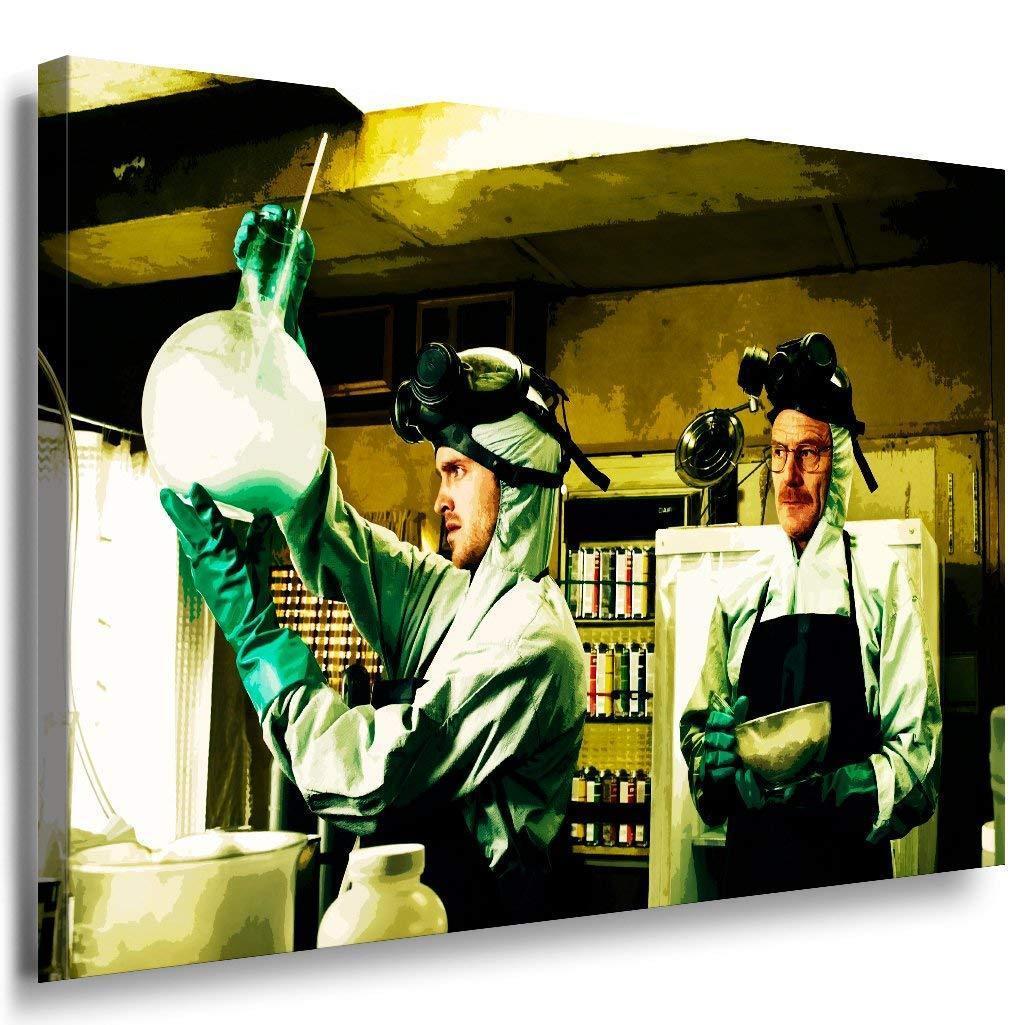Breaking Bad Leinwandbild AK Art Bilder Mehrfarbig Wandbild TOP FANART GESCHENK