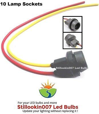 10 X Replacement Light Sockets For T5 Landscape Light Bulbs 620970956352 Ebay