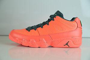 Nike Air Jordan Retro 9 Low Bright Red Mango 832822-805 10-14 11 12