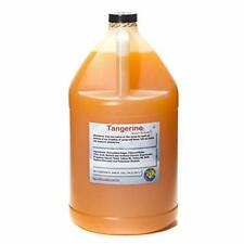Tangerine Ready To Use Shaved Ice Or Sno Cone Syrup Gallon 128 Fl Oz