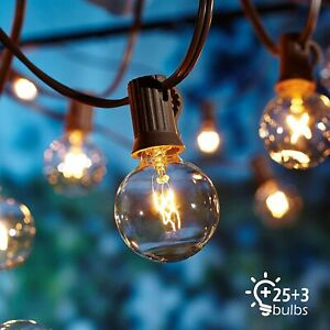 NEW-Garden-Patio-Outdoor-String-OxyLED-Lights-Mains-Powered-Outside-Bulbs-25ft