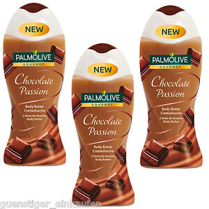 15-33-L-3x-250ml-Palmolive-Gourmet-Chocolate-Passion-Body-Butter-Cremedusche