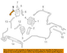 Genuine Honda Power Steering Hose Tube Suction 53731SV4000