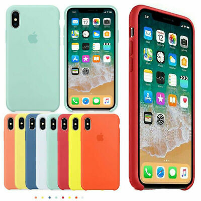 IPHONE X CUSTODIA Cover Silicone
