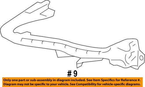 SUBARU OEM 13-16 BRZ Front Bumper-Corner Support Left 57707CA012