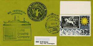 Polarpost CCCP: MS ESTONIA - CAE 1977-78 - Station Druschnaja - Uruquay - 1978